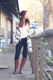 Senior Fashion Session in Downtown Fairhope, AL by Jenni Guerry Photography