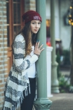 Winter Senior Session taken in Downtown Fairhope, AL by Jenni Guerry Photography